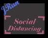 Sign Social Distancing P