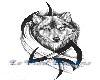 Wolf Moon Back Tat