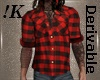 !K! Derive Flannel Shirt