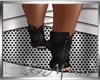 Black Skul Boots