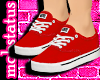 [MJ] Red Vans Female