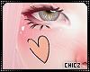 Cz!!Heart Paint face
