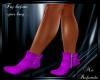 Boots Purple