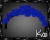 CHEETAH BLUE FLOWERS