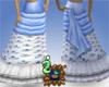 Walking Skirt: Blue