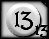 13 Silver & Black MED