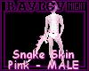 [R] Pink Snake Skin (m)