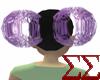 Purple Wire Puffs