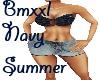 Navy Summer BMXXL