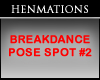 Breakdance Pose Spot #2