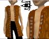Brown Pirate Surcoat