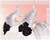 MORE Pearl Horns  Black