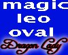 Magic and Leo Gold Oval