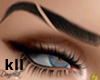 D| Eyebrows Drawn Black