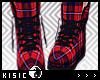 K! Plaid Sneakers