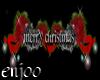 {e}merry xmas sign