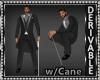 Long Tux Suit wCane Mesh