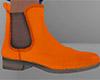 Orange Chelsea Boots (M)