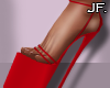 Jf. 7 Rings Red Heels