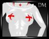 [DM] PVC Nurse Bodysuit