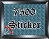 (S) 7500 Sticker