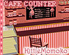 DOLL PINK CAFE COUNTER 1