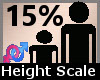 Height Scale 15% F A
