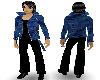 {LM}jean jacket