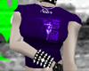 Purple badgirl tshirt v1