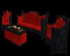 Victorian Witch Sofa Set