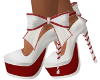 Christmas Candy Cane Wht