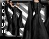 *E* elizabeth dark gown