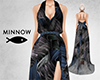 Abstract Belted Maxi