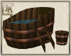 *JR  Antique Wood Tub
