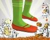 Kid Pumpkin Shoes+Socks