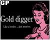 [ JK ] Gold Digger stkr