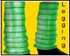 Green Knit Leggings