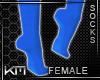 +KM+ Socks Blue 3