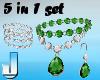 5 Jewelset Emerald