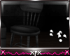 .xpx. Black Wooden Chair