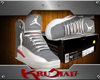 Grey Jordans