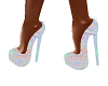 Neon Skittles Heels