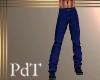 PdT Dk Blue Linen PantsM