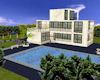 3  Level Pool House