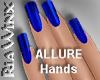 Kobalt Blue Nails