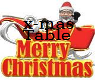 A~X-mas table