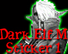 Dark Elf Boy Sticker 1