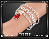 !D! Ruby Bracelet Right