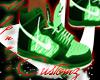 *Green Dunks*