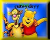 Tigger and Pooh Sticker